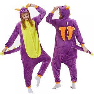 Purple dragon onesie